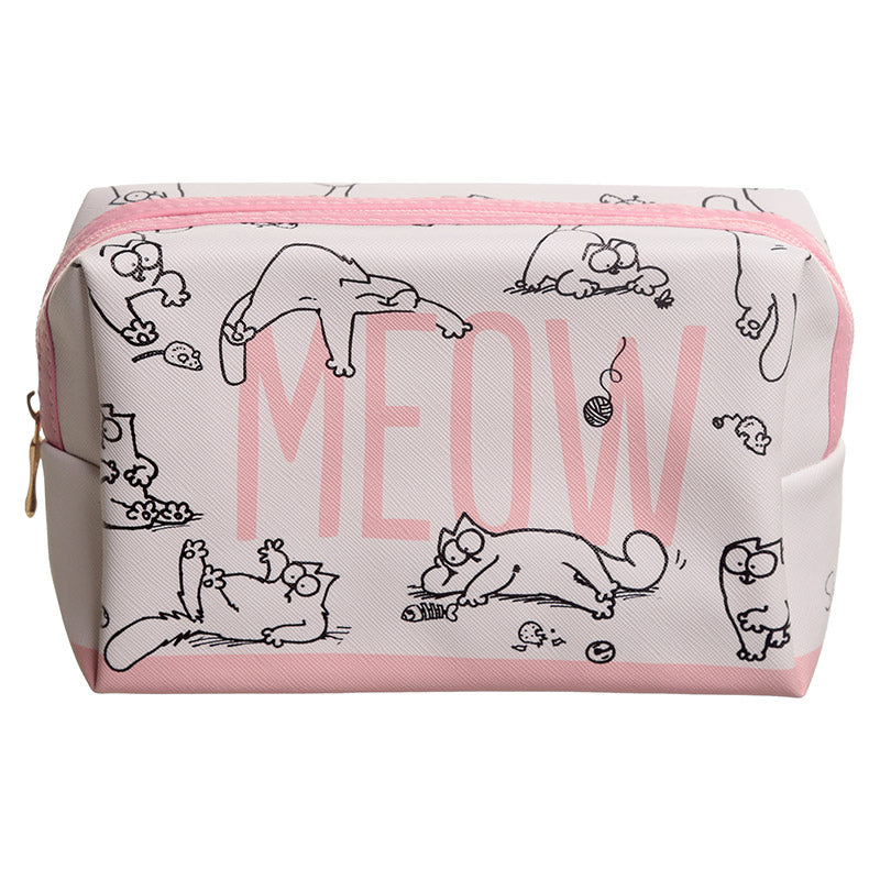 Simon's Cat Make Up Toilet Wash Bag from Pukkagifts.uk