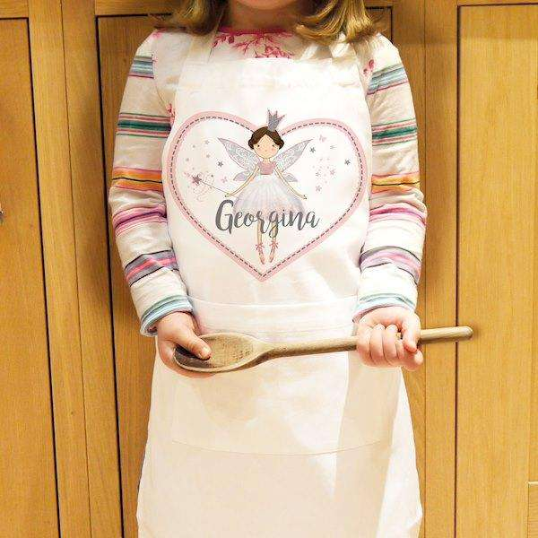 Personalised Fairy Princess Children's Apron from Pukkagifts.uk