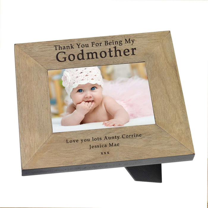 Thank You For Being My Godmother Photo Frame from Pukkagifts.uk
