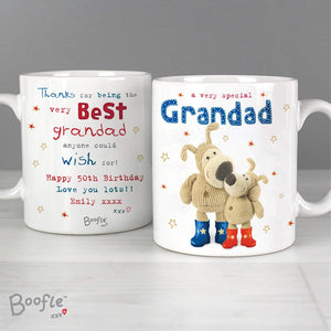 Personalised Boofle Special Grandad Mug from Pukkagifts.uk