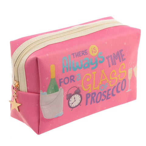 Prosecco Make Up Toilette Wash Bag from Pukkagifts.uk