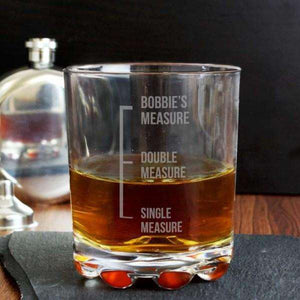 Personalised Novelty Whisky Glass from Pukkagifts.uk