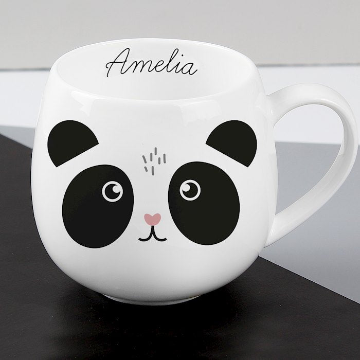 Personalised Cute Panda Shape Mug