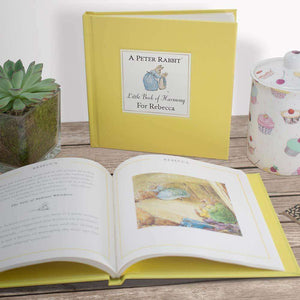 Peter Rabbit's Personalised Little Book of Harmony from Pukkagifts.uk