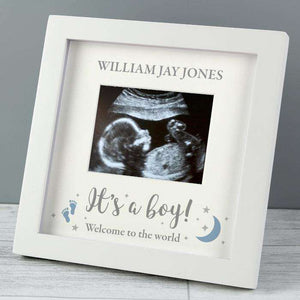 Personalised It's A Boy Baby Scan Photo Frame 4 x 3,Pukka Gifts