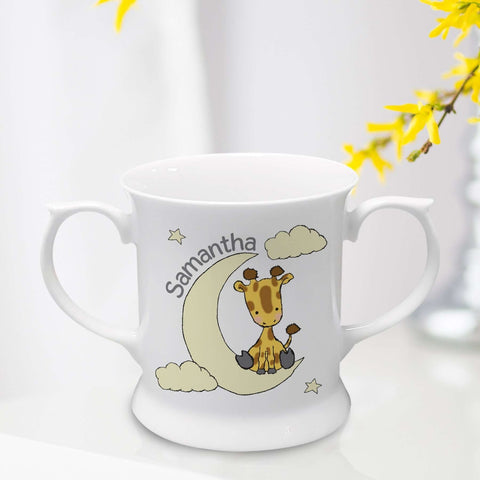 Personalised Sweet Dreams Giraffe Loving Cup,Pukka Gifts