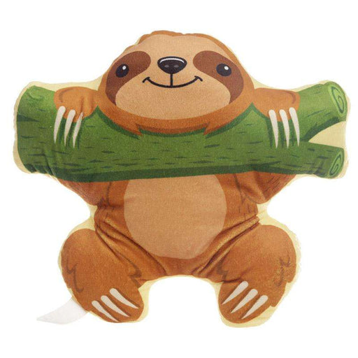 Plush Sloth Cushion from Pukkagifts.uk