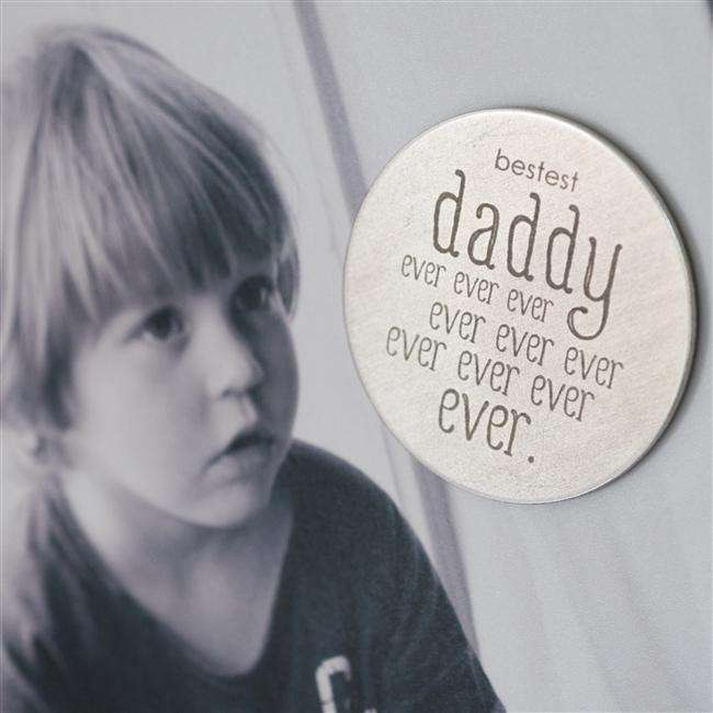 Bestest Daddy Ever Magnet from Pukkagifts.uk
