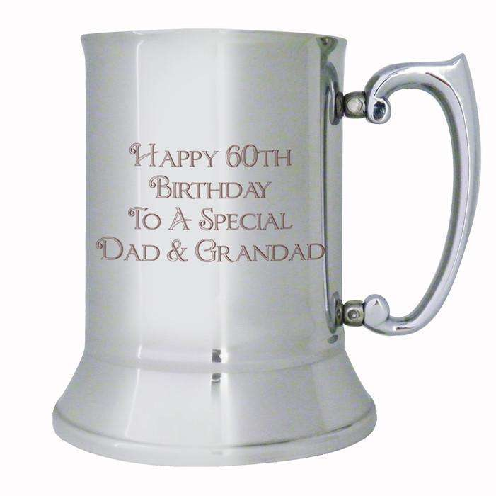 Personalised Bold Message Stainless Steel Tankard from Pukkagifts.uk