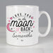 Personalised Love You To The Moon And Back Pink Mug