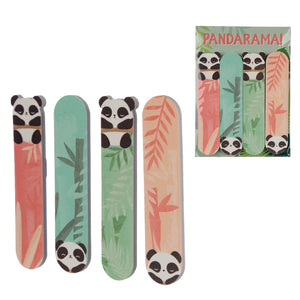 Panda Design Nail File Set of 4