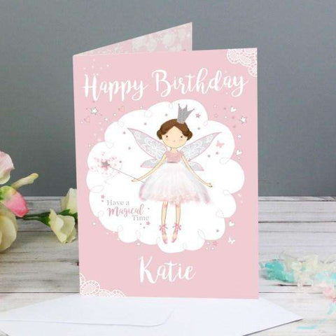 Personalised Fairy Princess Card,Pukka Gifts