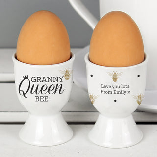 Personalised Queen Bee Egg Cup