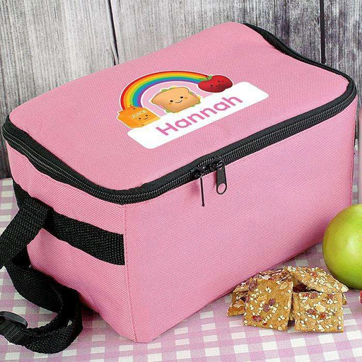 Personalised Girls Healthy Eating Lunch Bag from Pukkagifts.uk