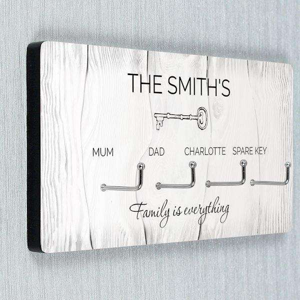 Personalised Family Names Wall Hooks from Pukkagifts.uk
