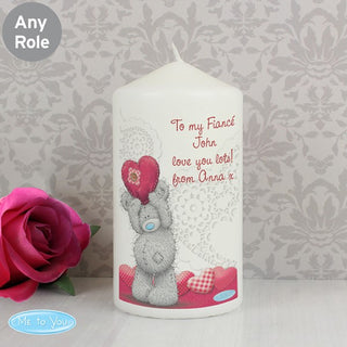 Personalised Me To You Heart Candle from Pukkagifts.uk