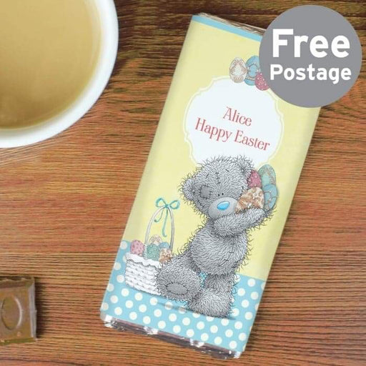 Personalised Me To You Easter Milk Chocolate Bar from Pukkagifts.uk