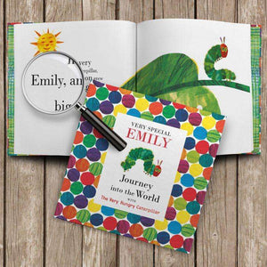 Personalised Very Hungry Caterpillar Book from Pukkagifts.uk