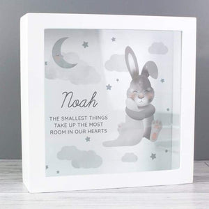 Personalised Baby Bunny Memory Keepsake Box from Pukkagifts.uk