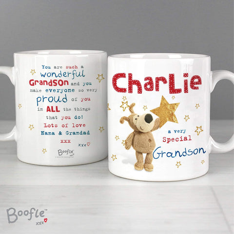 Personalised Boofle Very Special Star Mug from Pukkagifts.uk