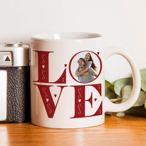 LOVE Photo Upload Mug