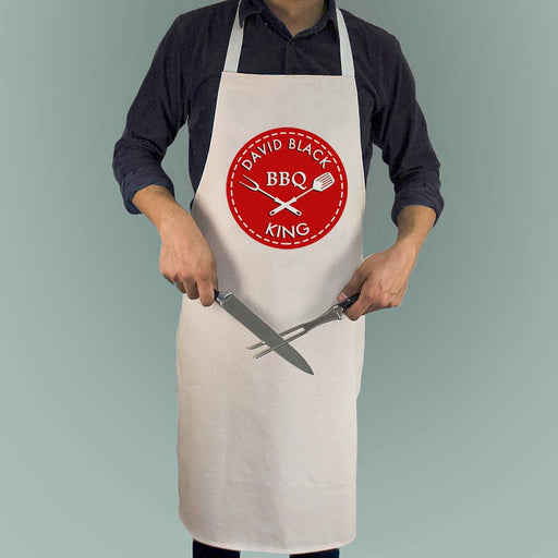 Personalised BBQ King Apron - Pukka Gifts