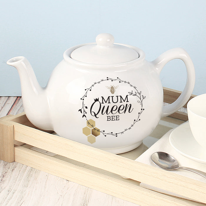 Personalised Queen Bee Teapot