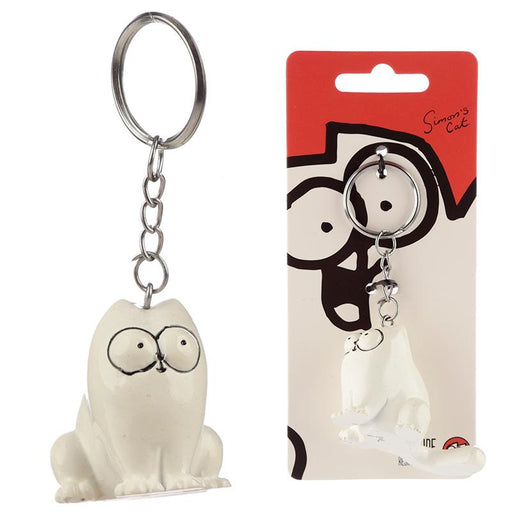 Simon's Cat Keyring