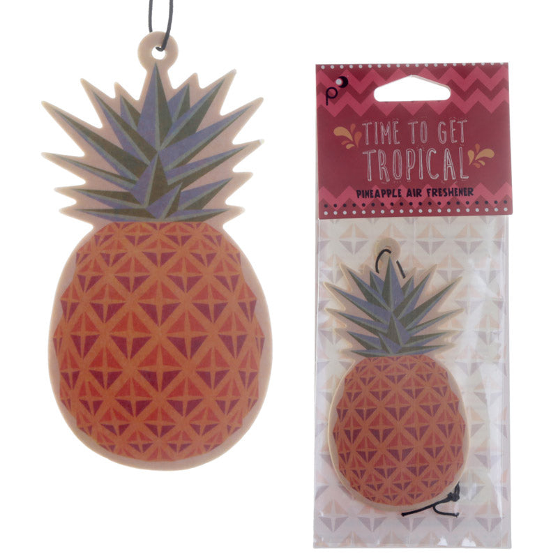 Pineapple Design Pineapple Scented Car Air Freshener