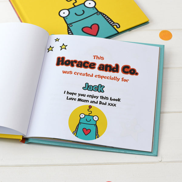 Personalised Flossy and Jim Where are you Robot? Book
