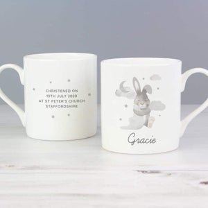 Personalised Baby Bunny Balmoral Mug from Pukkagifts.uk