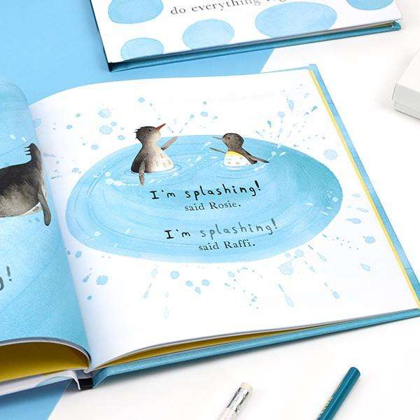 We Do Everything Together: Personalised Friendship Book For Children from Pukkagifts.uk