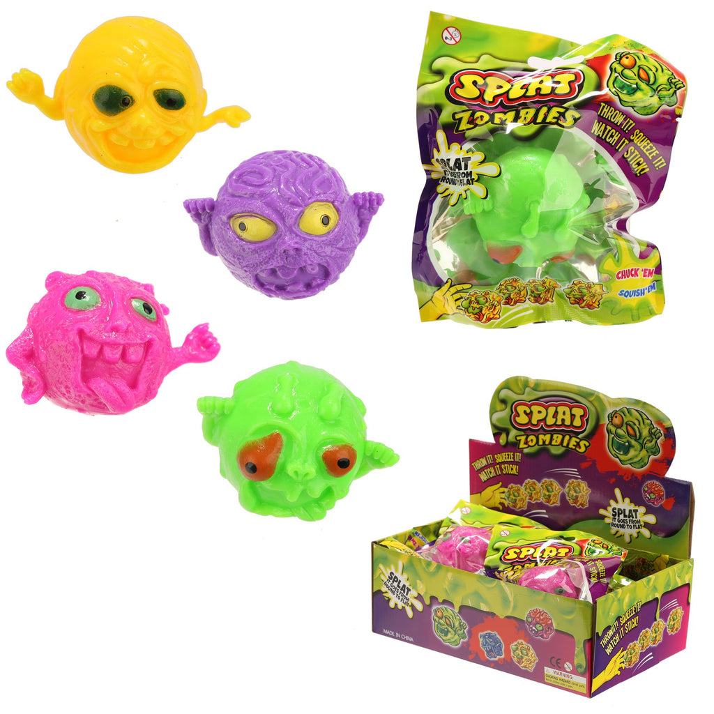 Splat Monster Ball Toy