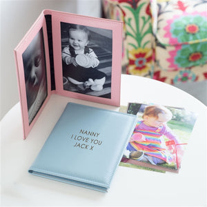 Personalised Leather Photo Frame