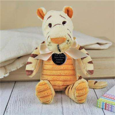 Personalised Classic Tigger Teddy from Pukkagifts.uk