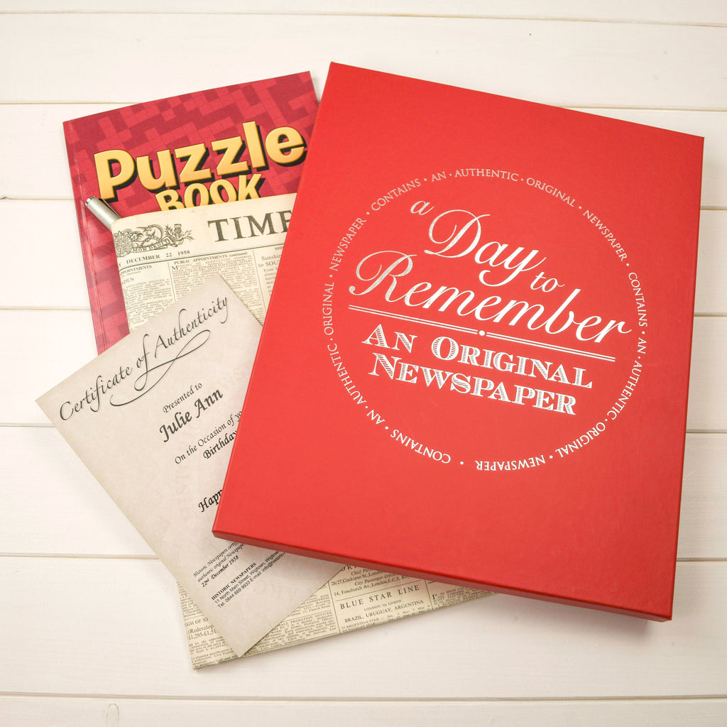 Original Newspaper with Puzzle Book With Free UK Delivery
