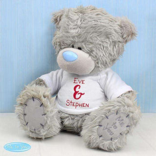 Personalised Couples Me to You Teddy Bear from Pukkagifts.uk