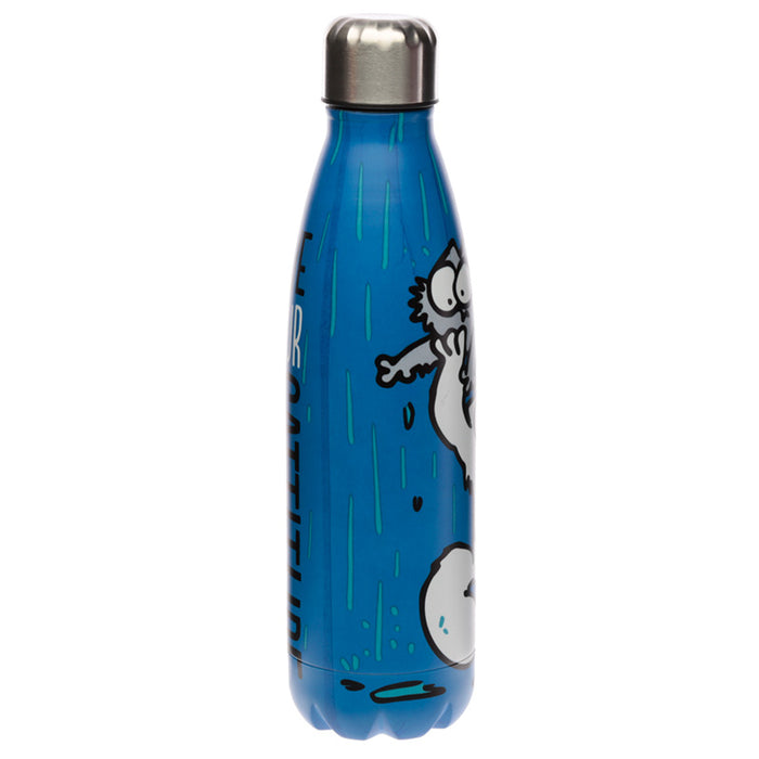 Simon's Cat Stainless Steel Insulated Drinks Bottle