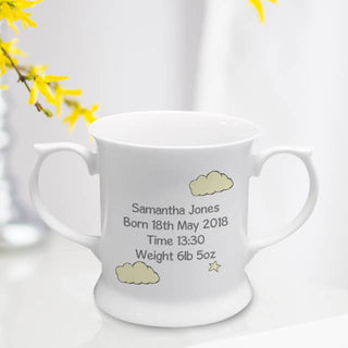 Personalised Sweet Dreams Giraffe Bone China Loving Cup from Pukkagifts.uk