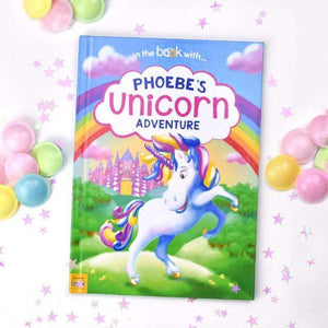 Personalised Unicorn Story Book from Pukkagifts.uk