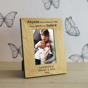 Anyone Can Be A Father But It Takes Someone Special To Be A Daddy Photo Frame,Pukka Gifts