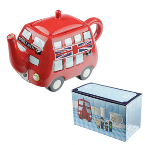 Routemaster London Red Bus Teapot