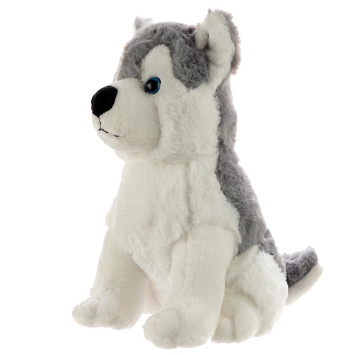 Plush Husky Dog Door Stop