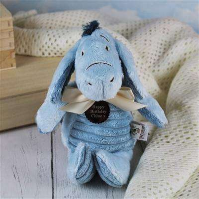 Personalised Classic Eeyore Teddy from Pukkagifts.uk