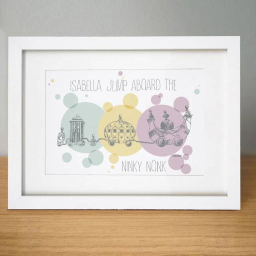 Personalised In The Night Garden Ninky Nonk Framed Print