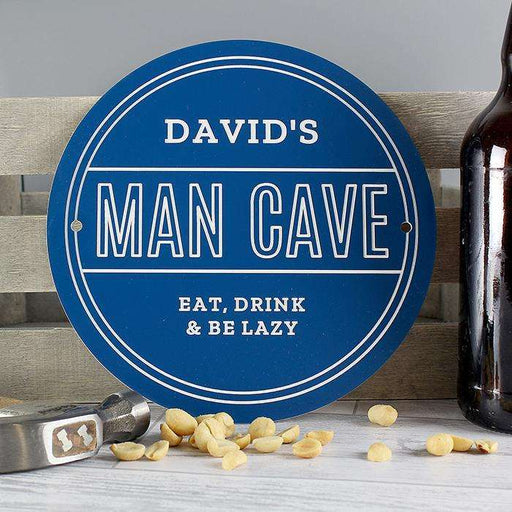 Personalised Man Cave Sign from Pukkagifts.uk