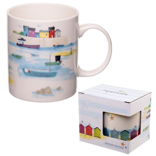 Seaside and Beach Portside Design Mug - Pukka Gifts