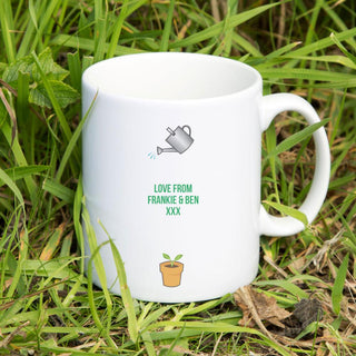 Personalised King Of The Gardening Mug