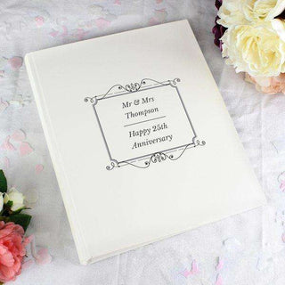 Personalised Silver Photo Album With Sleeves from Pukkagifts.uk