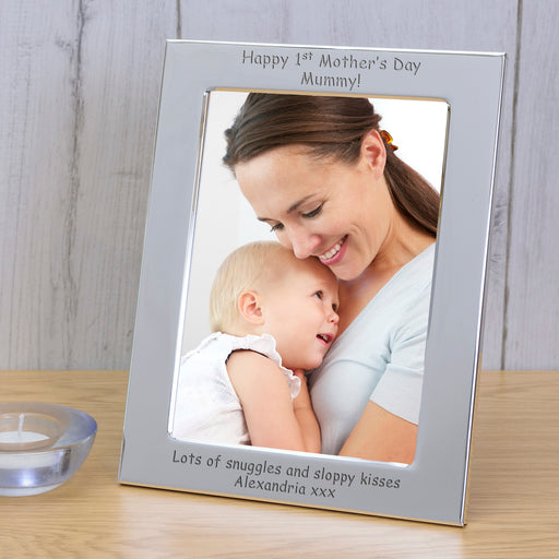 Personalised Happy 1st Mother's Day Mummy Photo Frame